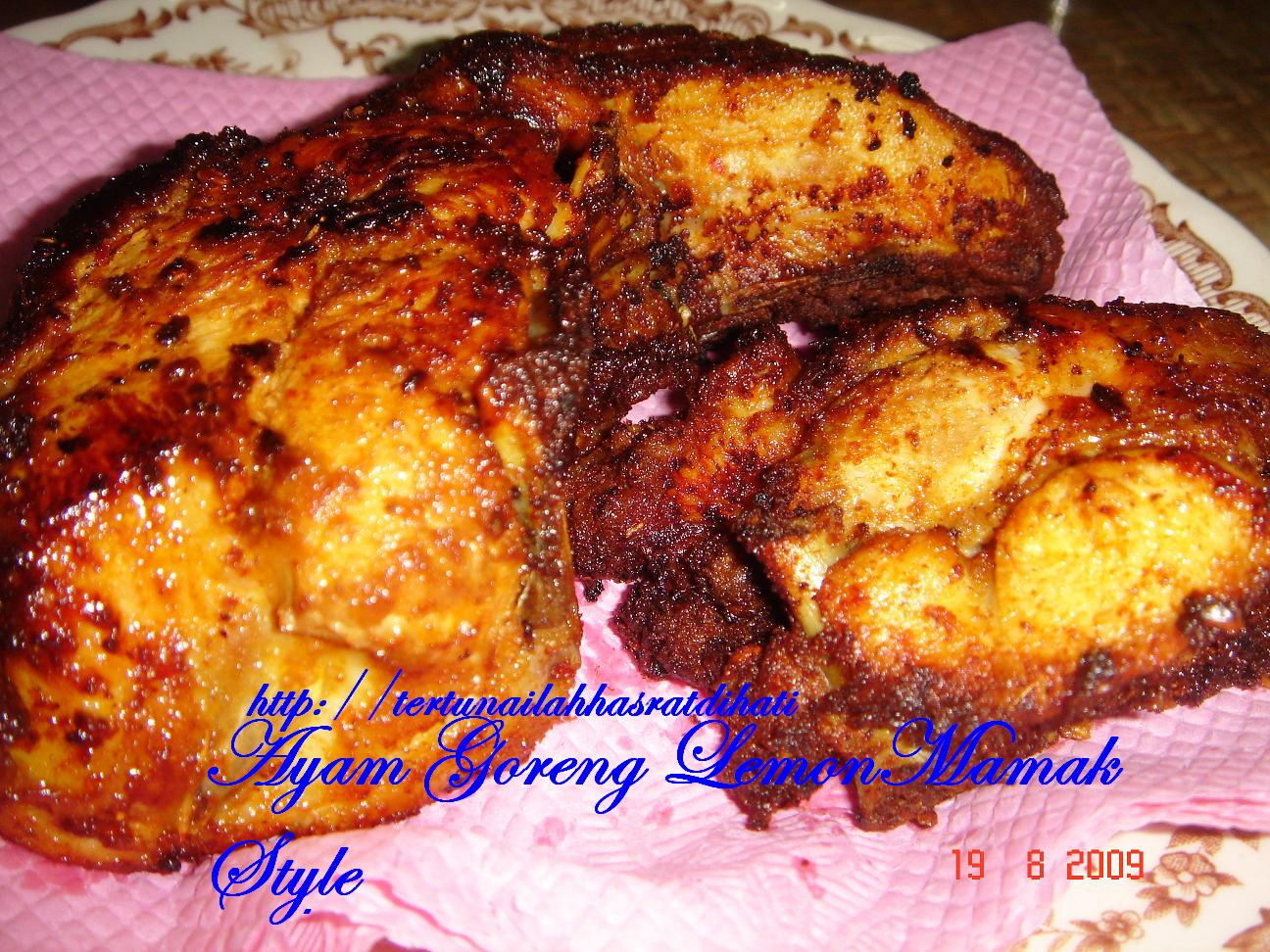 Ayam Masak Lemon